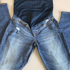 Small Levi Maternity Pull On Jeans